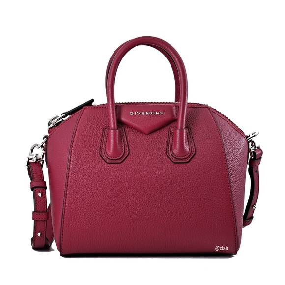 7820cfcfb46 New Givenchy Antigona Mini Sugar Leather Satchel